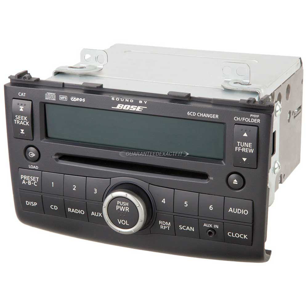 Nissan Rogue                          Radio or CD PlayerRadio or CD Player