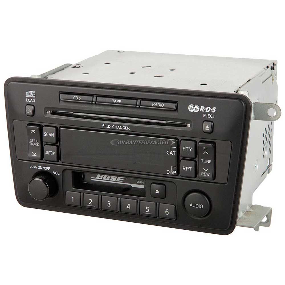 Nissan Pathfinder                     Radio or CD PlayerRadio or CD Player