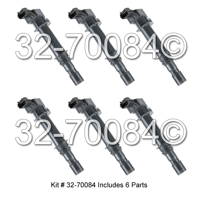 Jeep Liberty                        Ignition Coil SetIgnition Coil Set