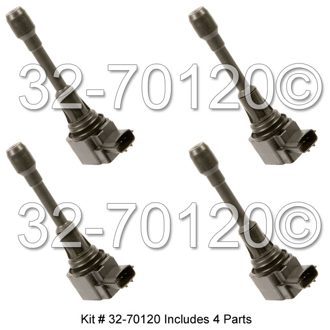 Nissan Frontier                       Ignition Coil SetIgnition Coil Set