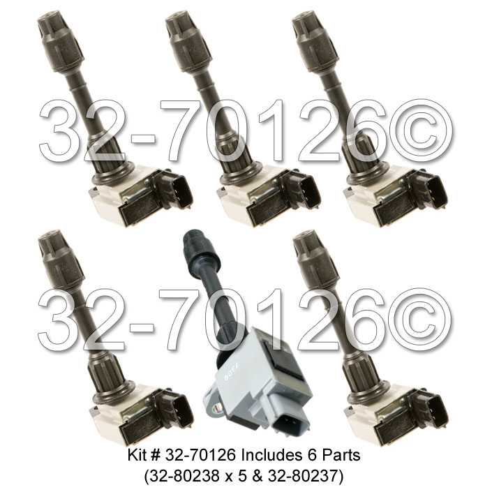 Nissan Pathfinder                     Ignition Coil SetIgnition Coil Set