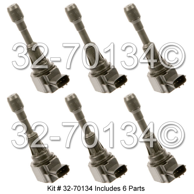 Nissan GT-R                           Ignition Coil SetIgnition Coil Set