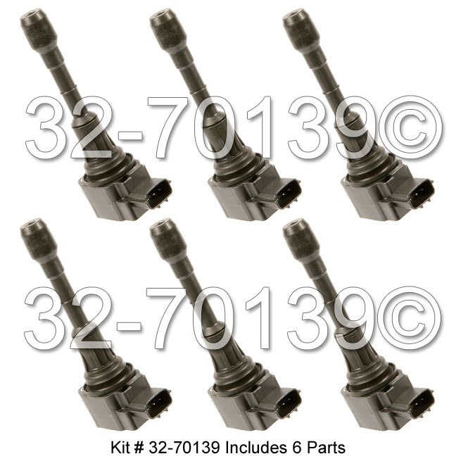 Infiniti M35                            Ignition Coil SetIgnition Coil Set