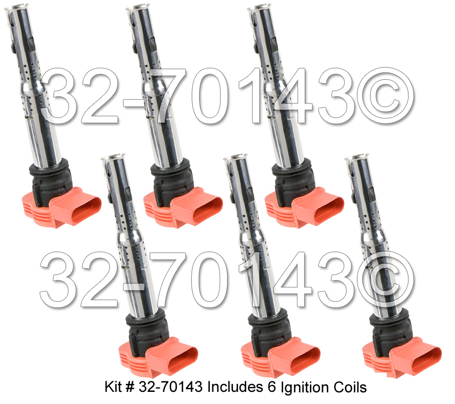 VW Touareg                        Ignition Coil SetIgnition Coil Set