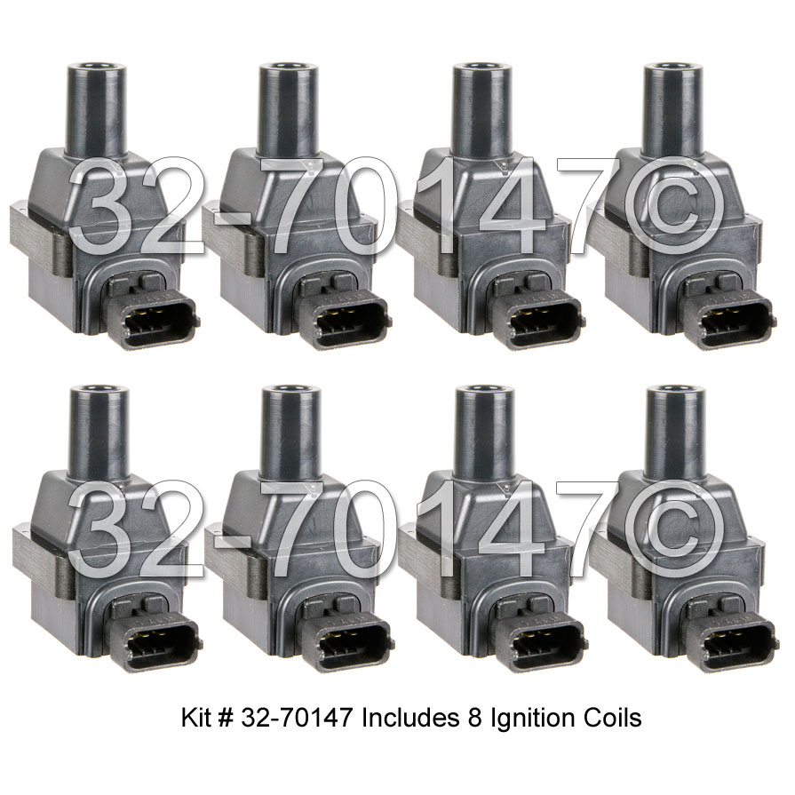 Mercedes_Benz SL600                          Ignition Coil SetIgnition Coil Set