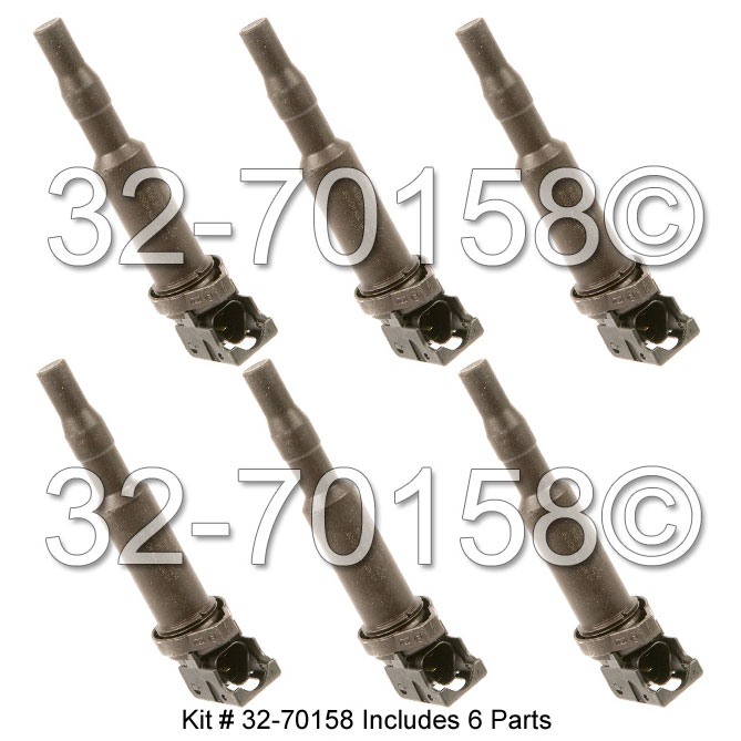 BMW 328xi                          Ignition Coil SetIgnition Coil Set