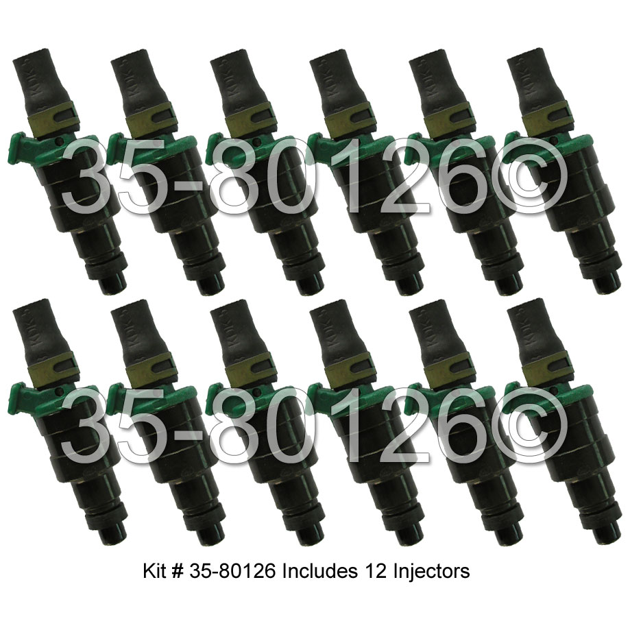 Jaguar XJ12                           Fuel Injector SetFuel Injector Set
