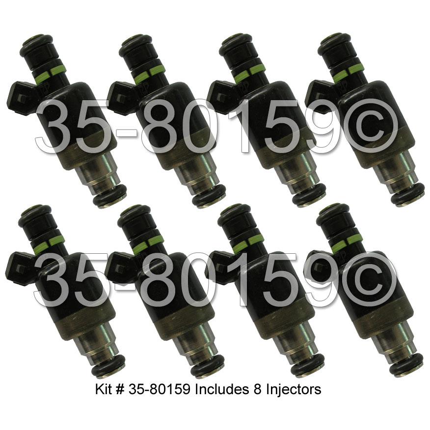 Cadillac Allante                        Fuel Injector SetFuel Injector Set