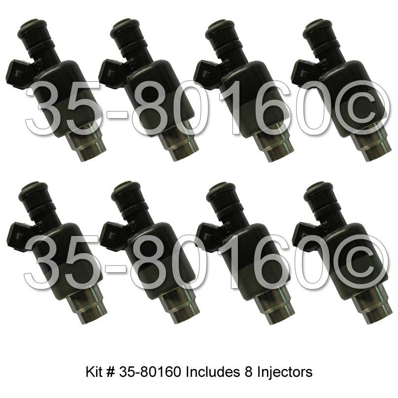 Cadillac Eldorado                       Fuel Injector SetFuel Injector Set