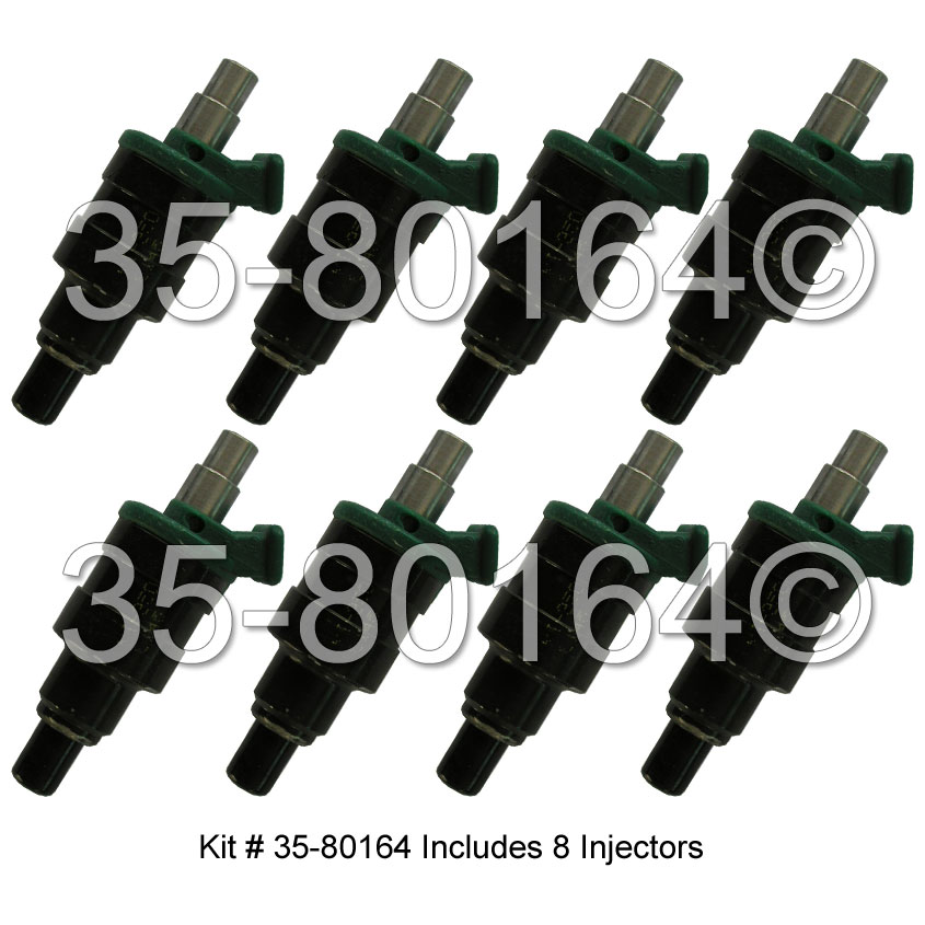 Cadillac Fleetwood                      Fuel Injector SetFuel Injector Set