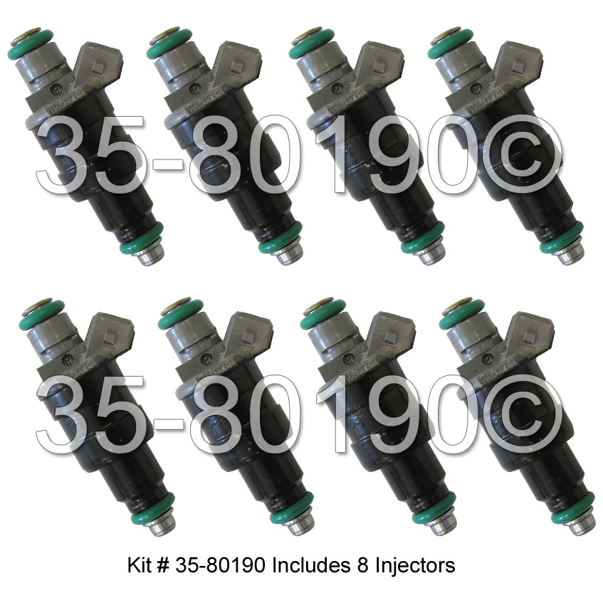 Dodge Ramcharger                     Fuel Injector SetFuel Injector Set