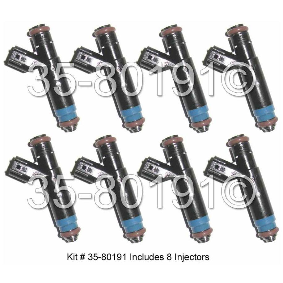 Dodge Ramcharger                     Fuel Injector SetFuel Injector Set
