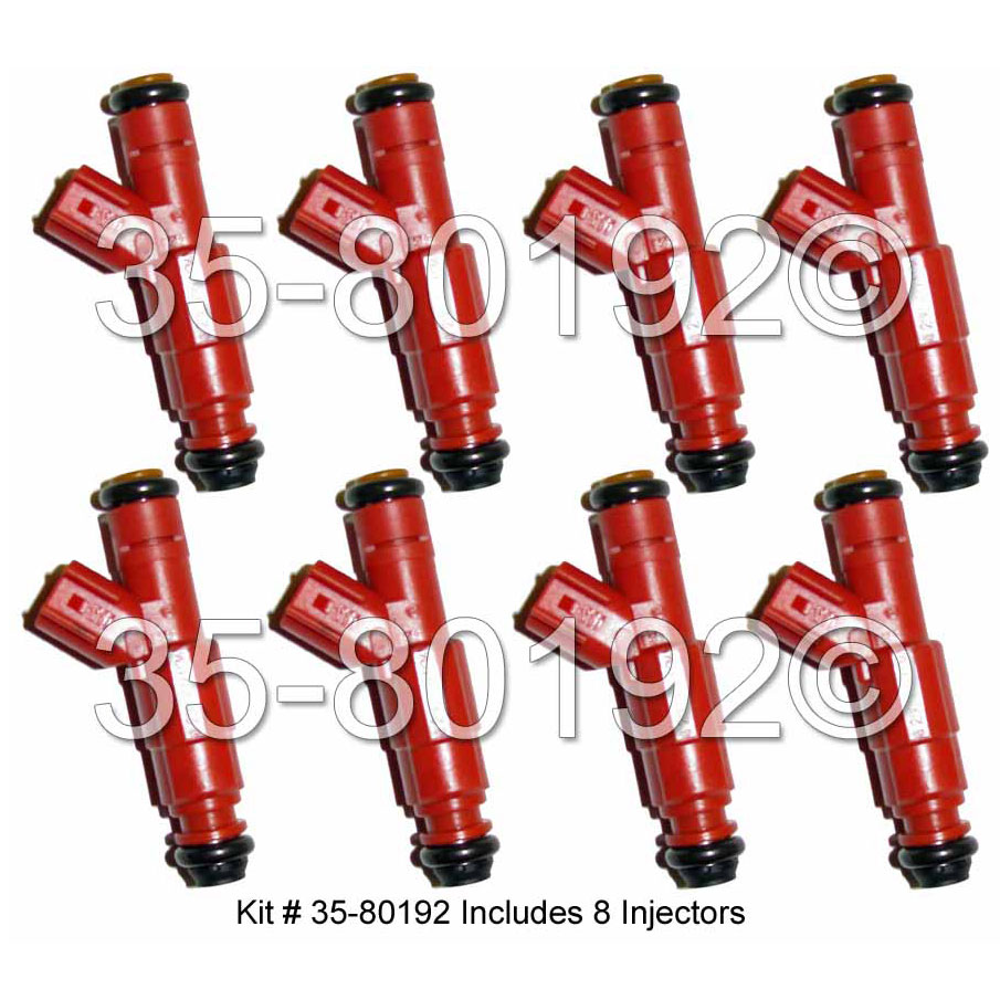 Dodge Durango                        Fuel Injector SetFuel Injector Set