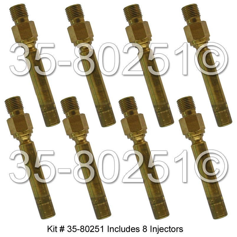 Mercedes_Benz 450SLC                         Fuel Injector SetFuel Injector Set