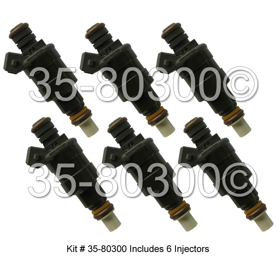 BMW 633csi                         Fuel Injector SetFuel Injector Set