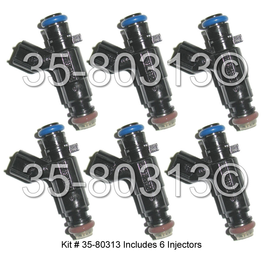 Buick Rendezvous                     Fuel Injector SetFuel Injector Set