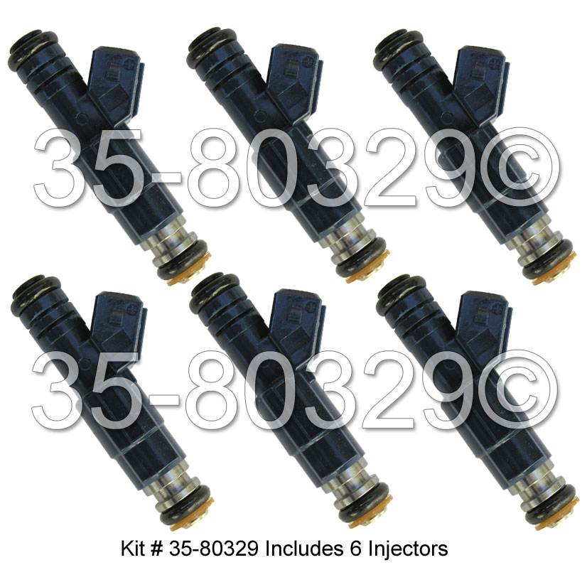 Cadillac Catera                         Fuel Injector SetFuel Injector Set