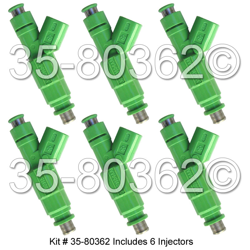 Chrysler Town and Country               Fuel Injector SetFuel Injector Set