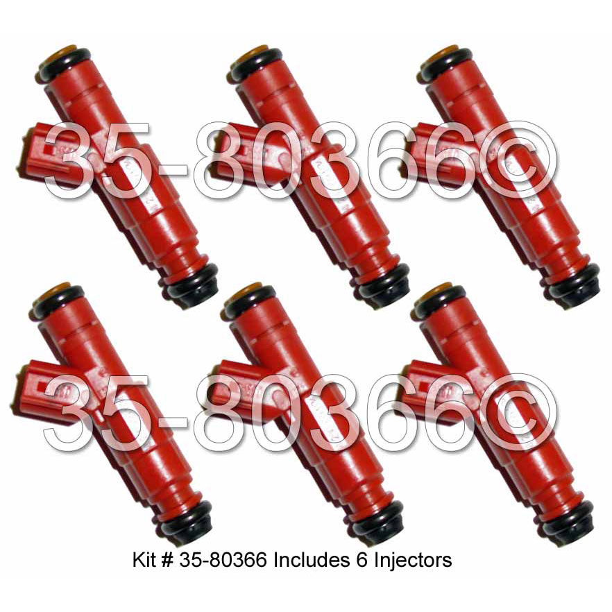 Dodge Dakota 2000 Remanufactured Complete: 2000 Dodge Dakota Fuel Injector Set Parts From Car Parts