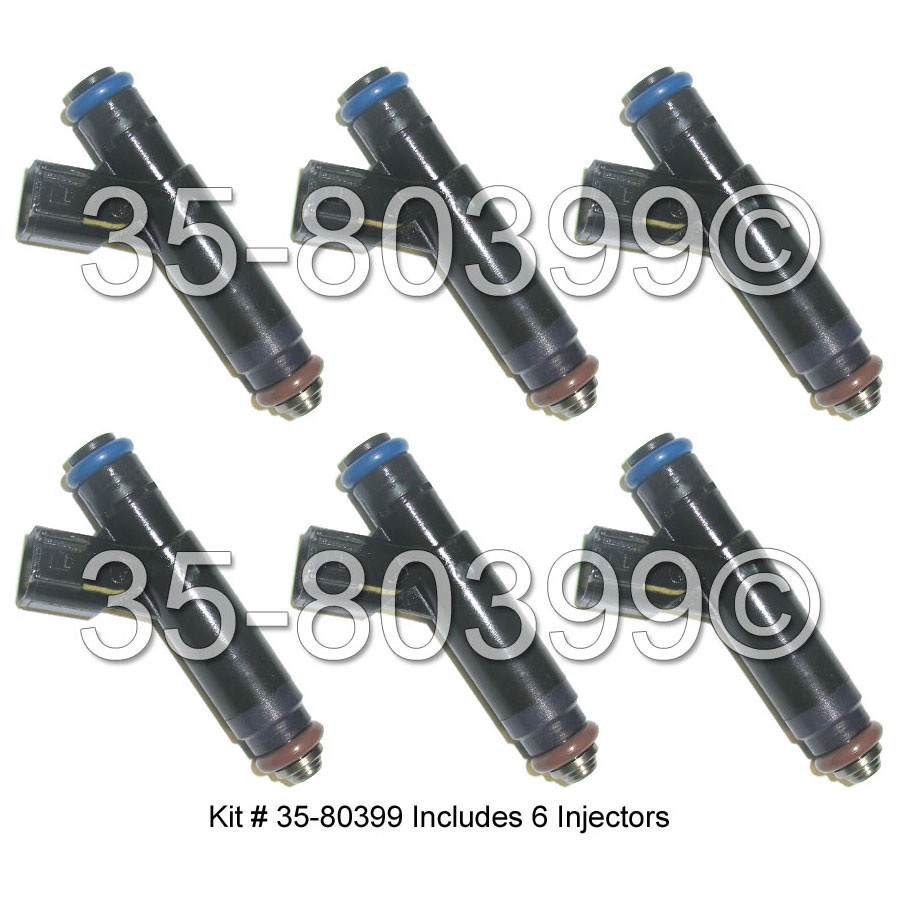 Mercury Monterey                       Fuel Injector SetFuel Injector Set