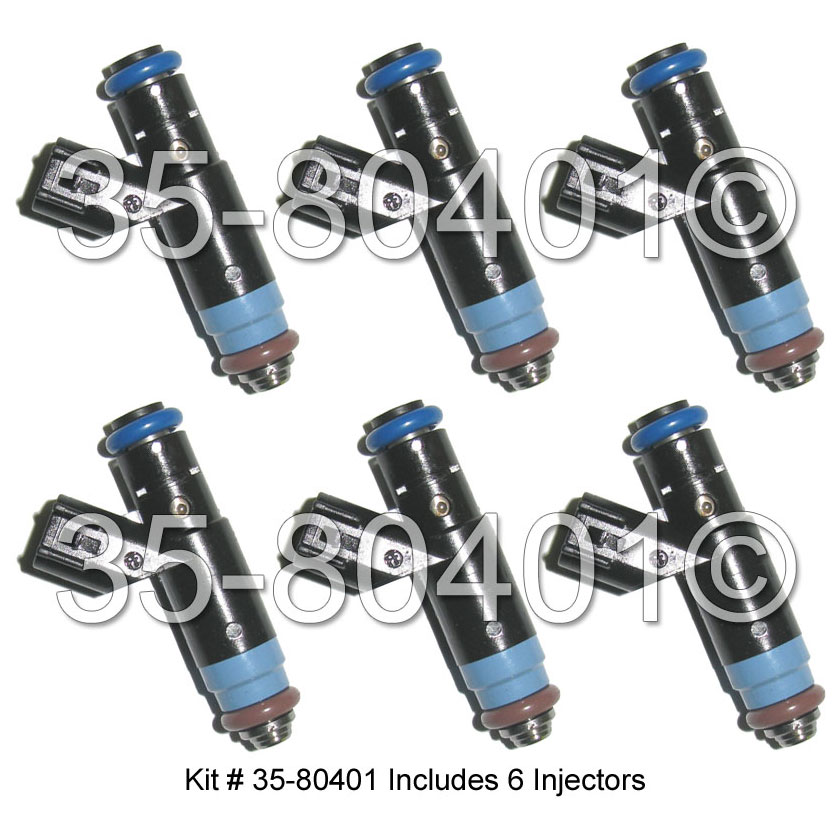 Ford Freestyle                      Fuel Injector SetFuel Injector Set