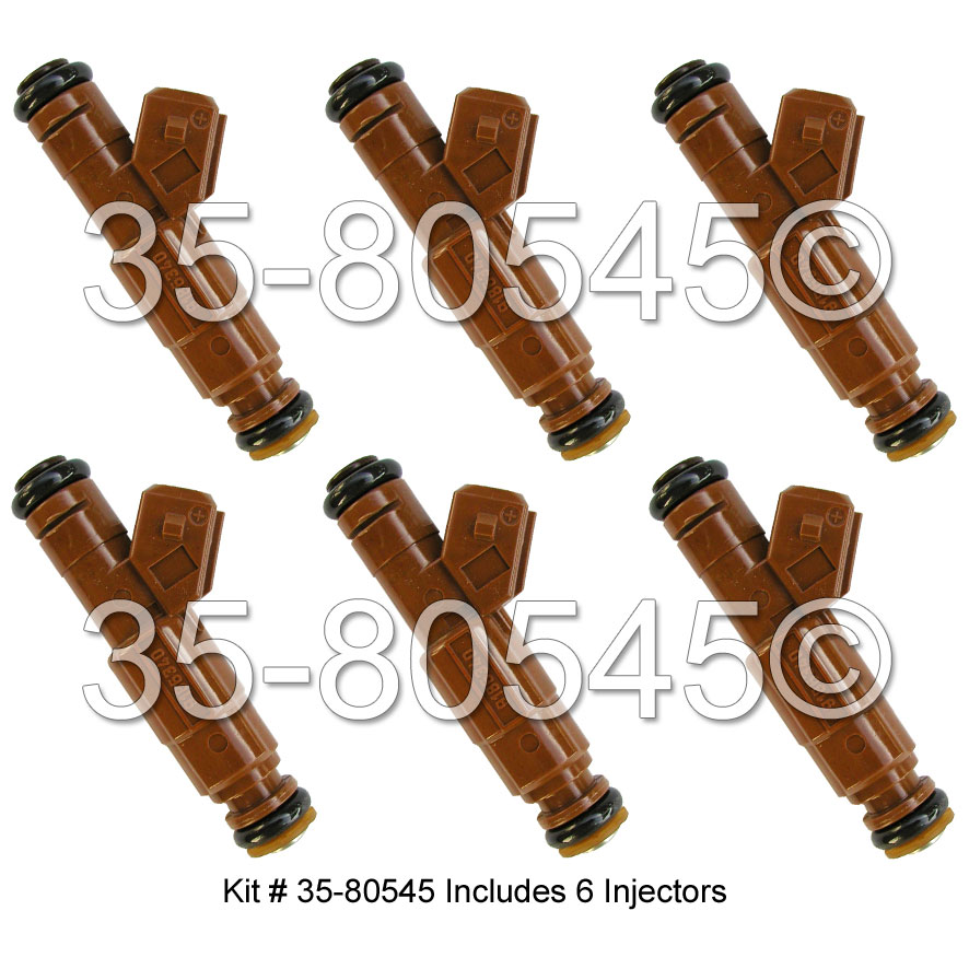 Volvo S80                            Fuel Injector SetFuel Injector Set