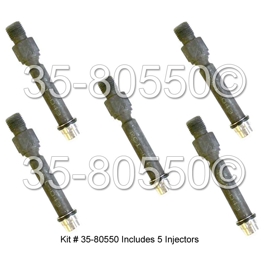 Audi 5000                           Fuel Injector SetFuel Injector Set
