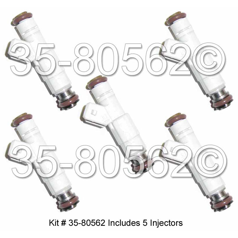 Volvo C70                            Fuel Injector SetFuel Injector Set