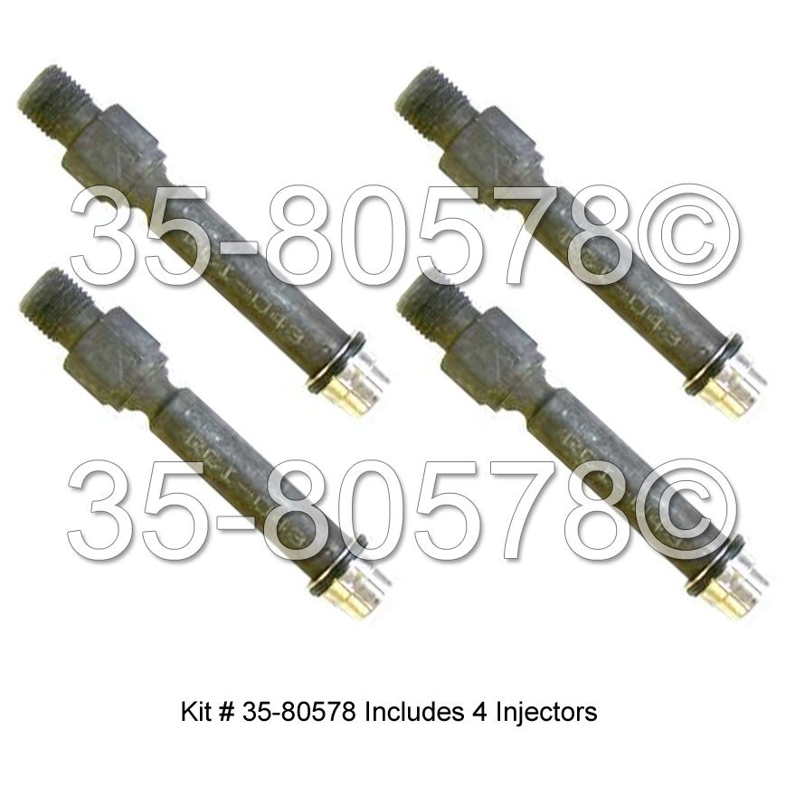 Audi 90                             Fuel Injector SetFuel Injector Set