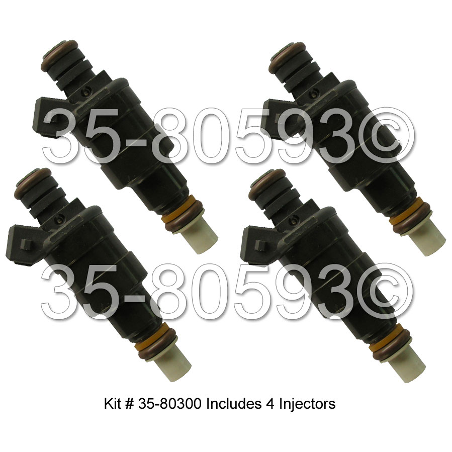 Chrysler Laser                          Fuel Injector SetFuel Injector Set