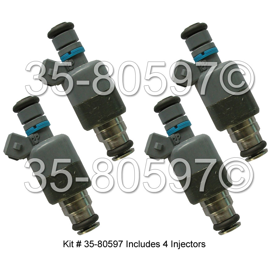 Isuzu Impulse                        Fuel Injector SetFuel Injector Set