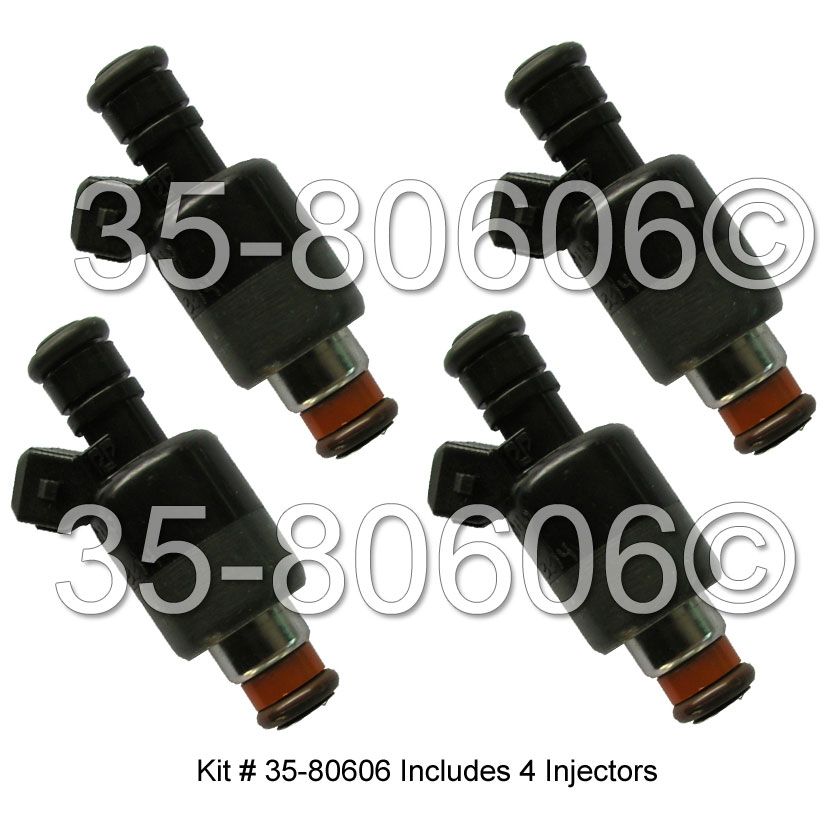 Chevrolet S10 Truck Fuel Injector Set