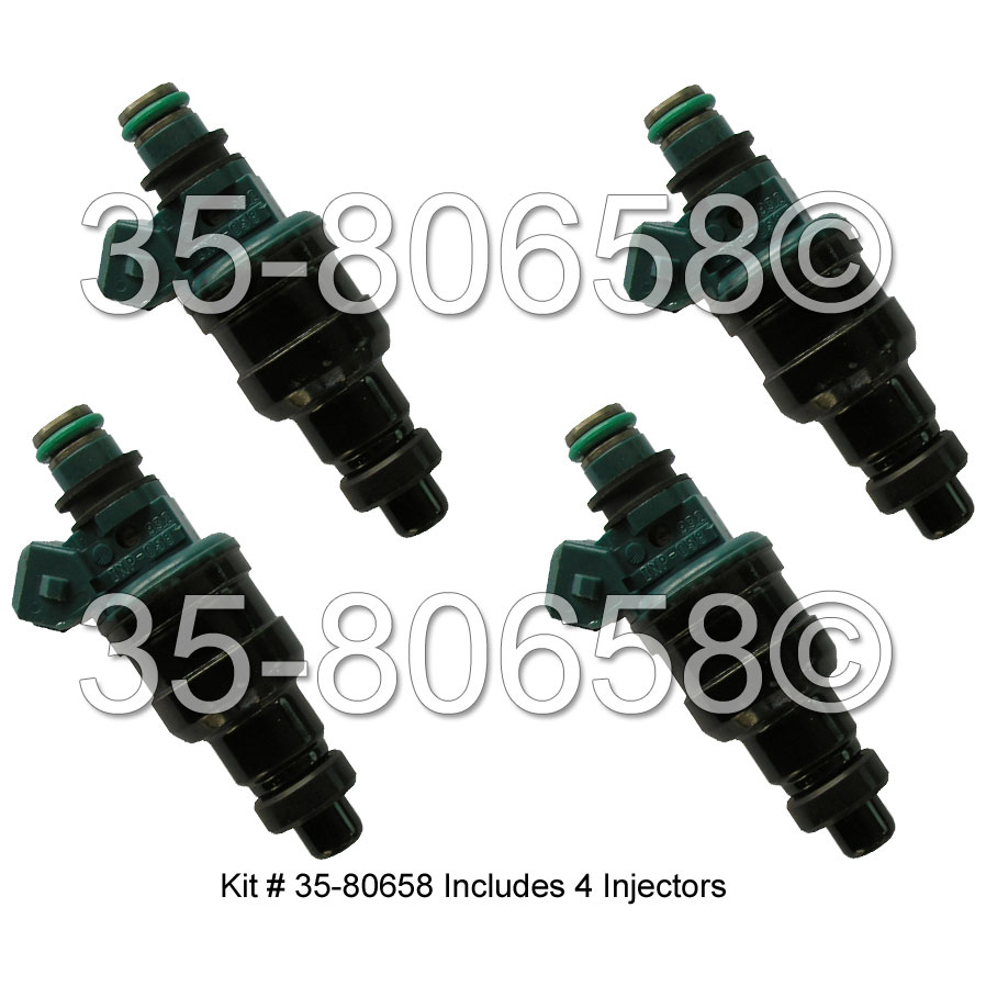 Dodge D50 Ram                        Fuel Injector SetFuel Injector Set