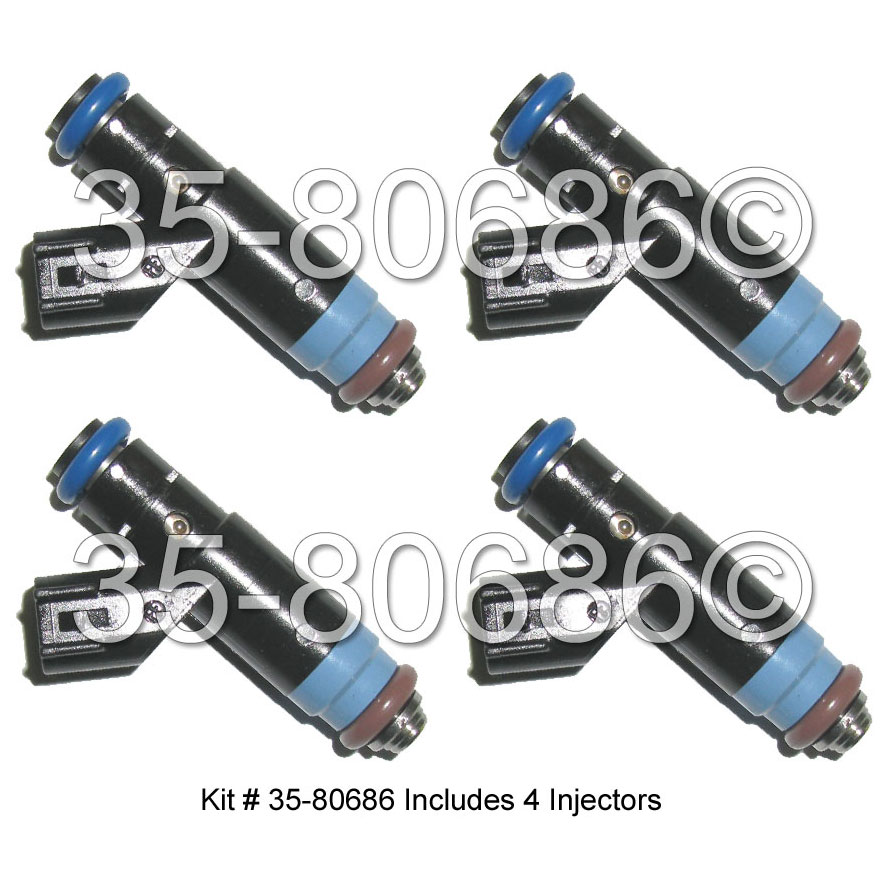 Ford Fusion                         Fuel Injector SetFuel Injector Set