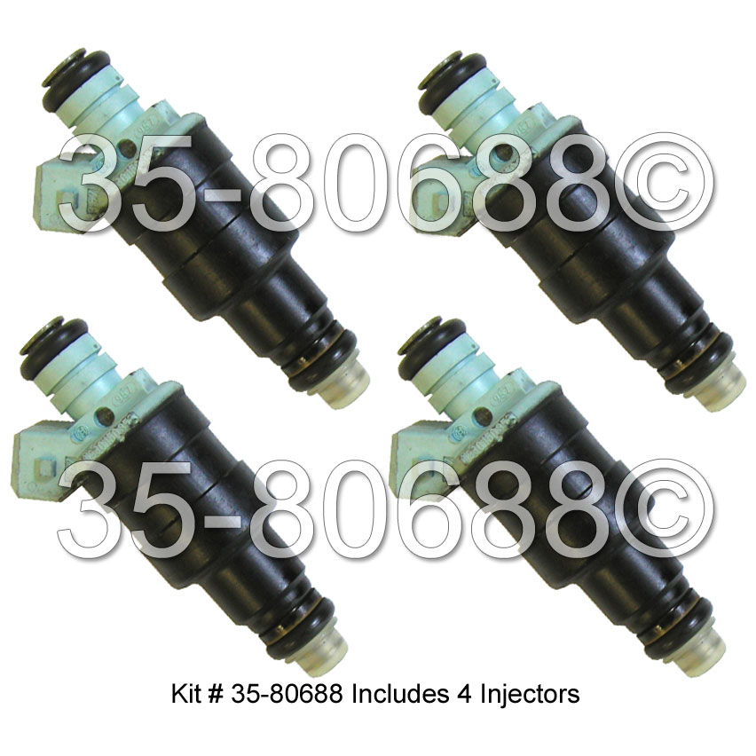 Volvo 740                            Fuel Injector SetFuel Injector Set