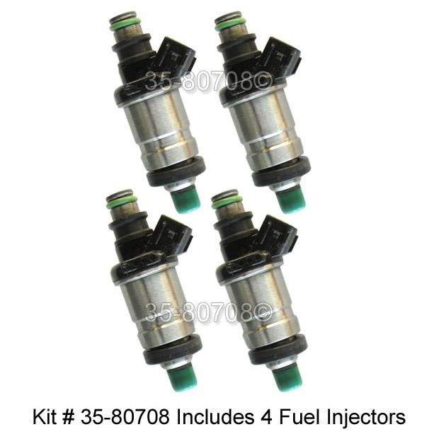 Honda Del Sol                        Fuel Injector SetFuel Injector Set