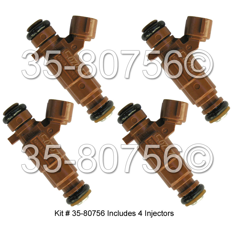 Kia Sephia                         Fuel Injector SetFuel Injector Set
