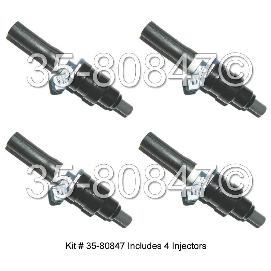 Subaru DL GF or GL                    Fuel Injector SetFuel Injector Set