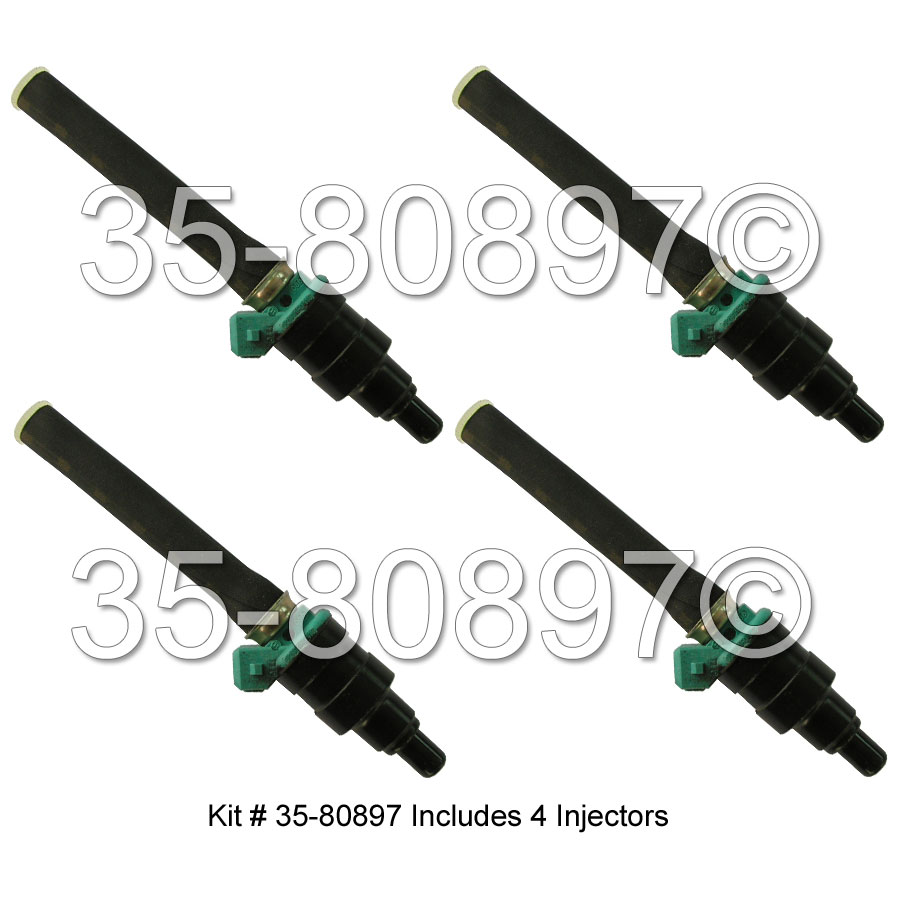 Volkswagen Vanagon                        Fuel Injector SetFuel Injector Set