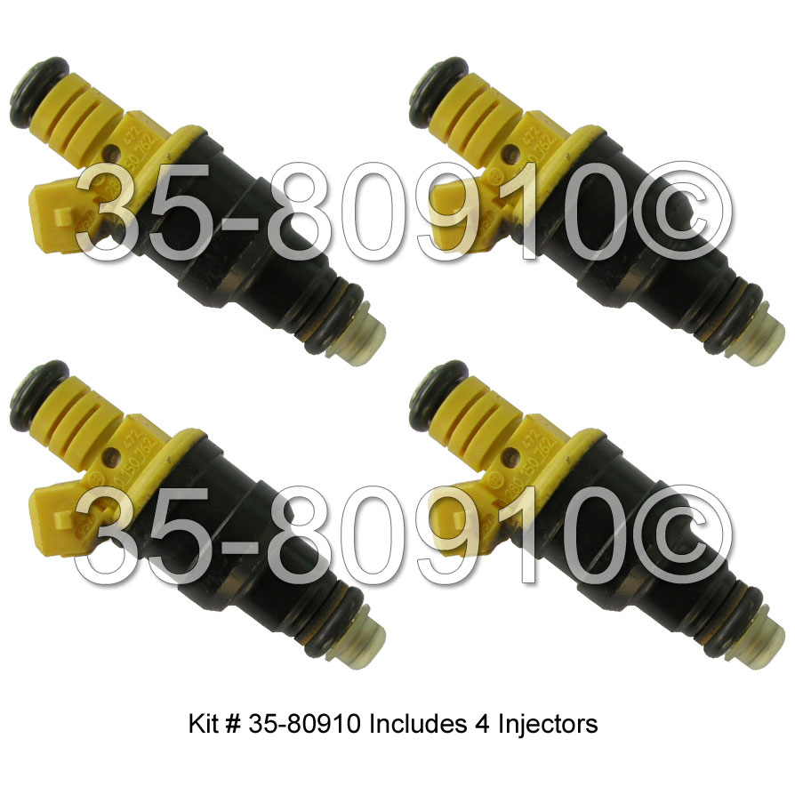 Volvo 240                            Fuel Injector SetFuel Injector Set
