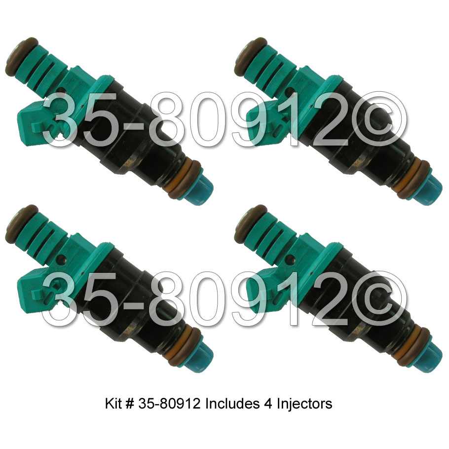 Volvo 940                            Fuel Injector SetFuel Injector Set