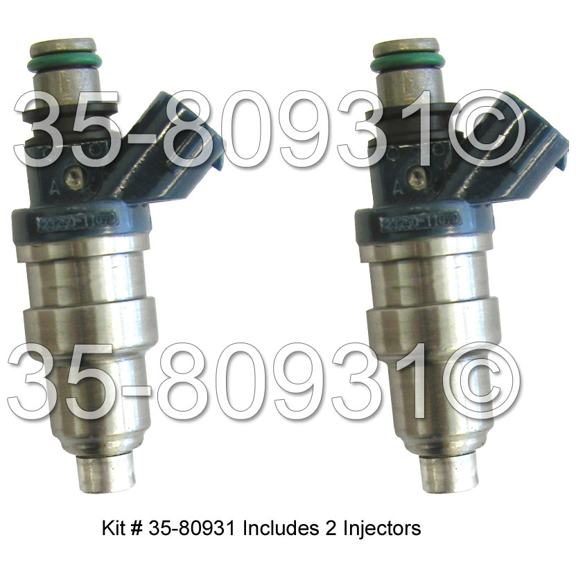 Toyota Tercel                         Fuel Injector SetFuel Injector Set