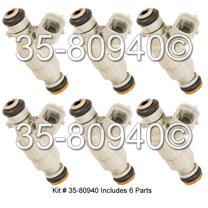 Hyundai XG350                          Fuel Injector SetFuel Injector Set