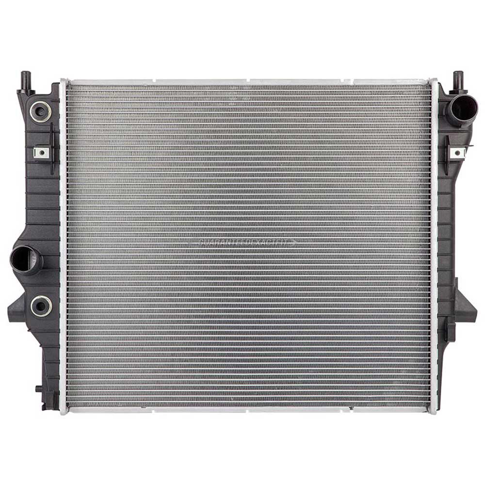 Jaguar Super V8                       Radiator
