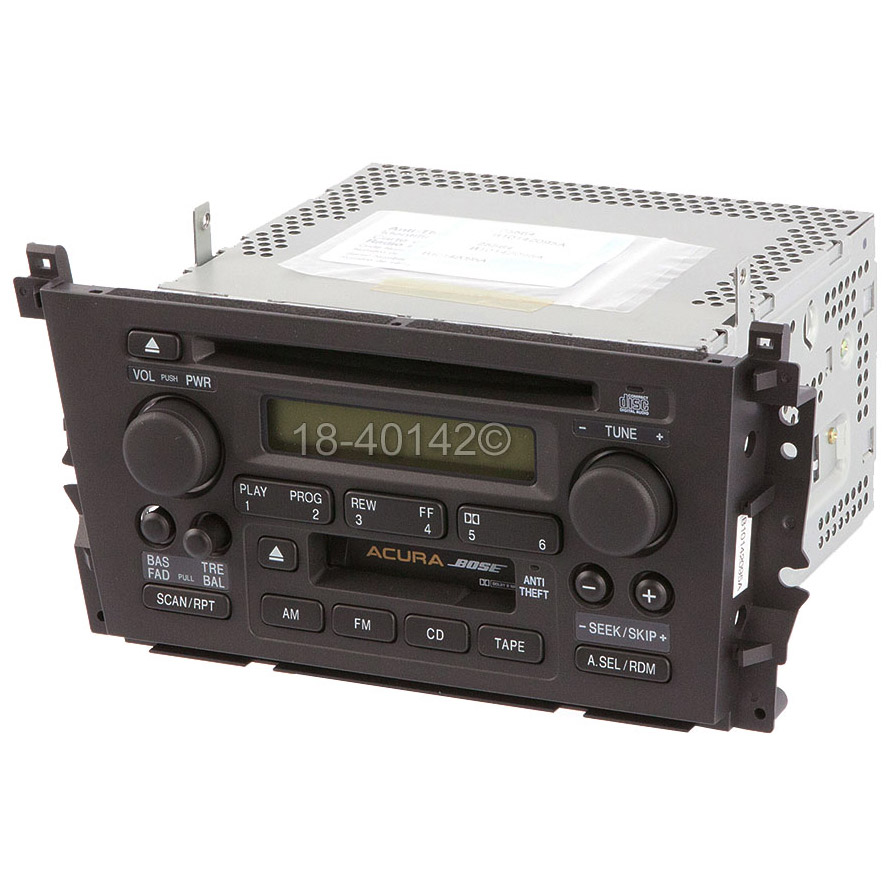 2000 Acura TL Radio Or CD Player Parts From Car Parts