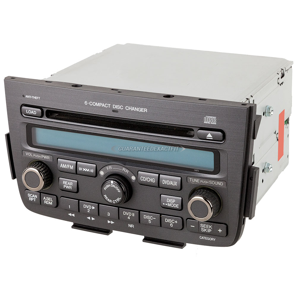 2004 Acura MDX Radio Or CD Player Parts From Car Parts