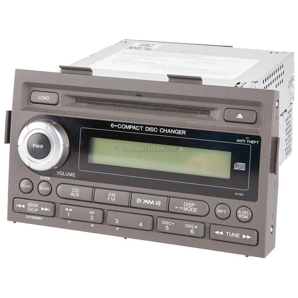 Honda Ridgeline                      Radio or CD PlayerRadio or CD Player