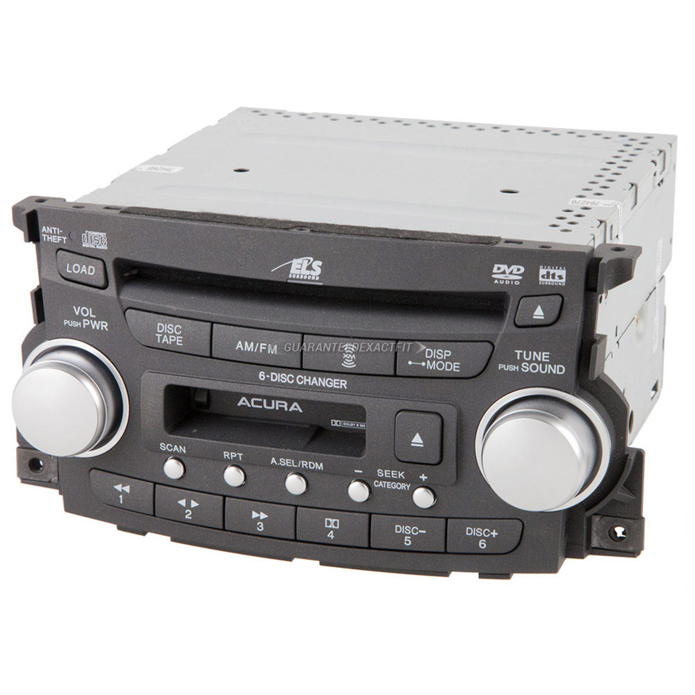 Acura TL                             Radio or CD PlayerRadio or CD Player