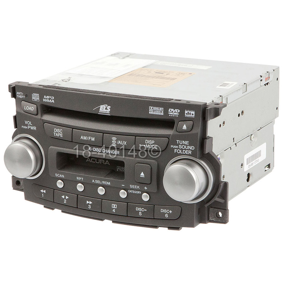 2007 Acura TL Radio Or CD Player Parts From Car Parts