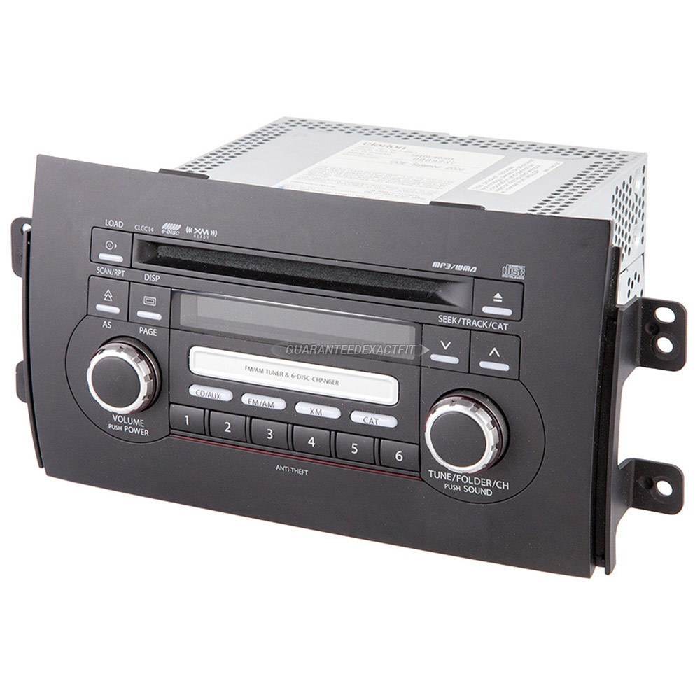 Suzuki SX4                            Radio or CD PlayerRadio or CD Player